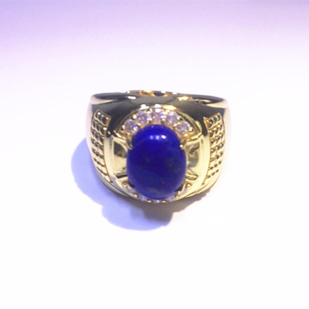 gem jewelry factory adjustable 925 sterling silver natural blue lapis green jasper gemstone ring man