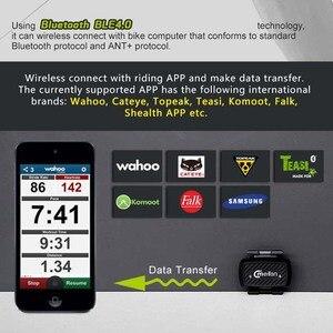 Image 3 - Fahrrad zubehör Bike Cadence Tacho sensor Radfahren Bluetooth 4,0 ANT indoor Spinning kadenz ausbildung Meilan C1