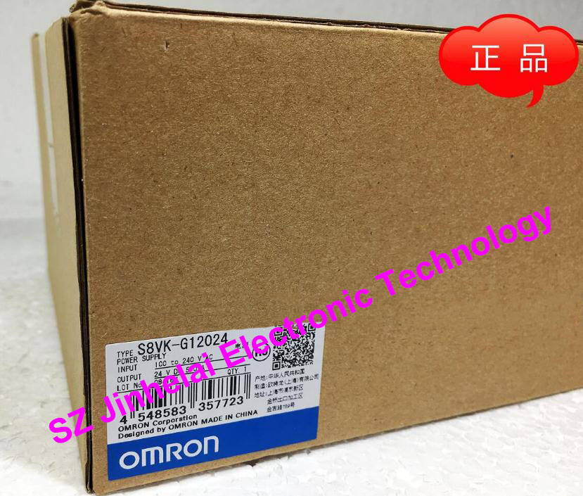 все цены на 100%New and original  S8VK-G12024  OMRON Switching power supply  5.0A онлайн