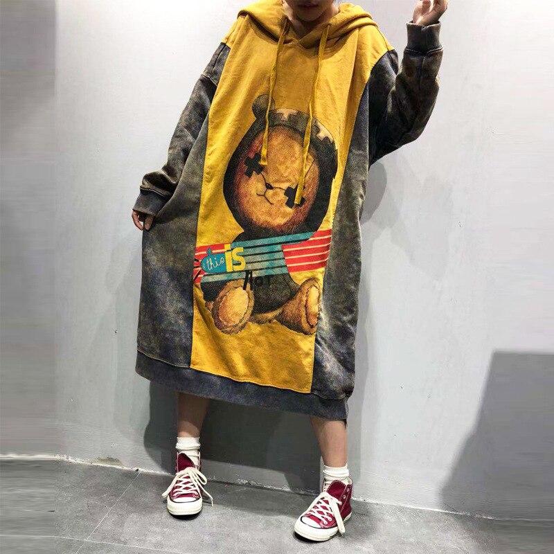 Nouveau coréen décontracté imprimé Harajuku sweat-shirts à capuche pour femmes Patchwork EXO à capuche pulls à capuche Hip Hop Streetwear