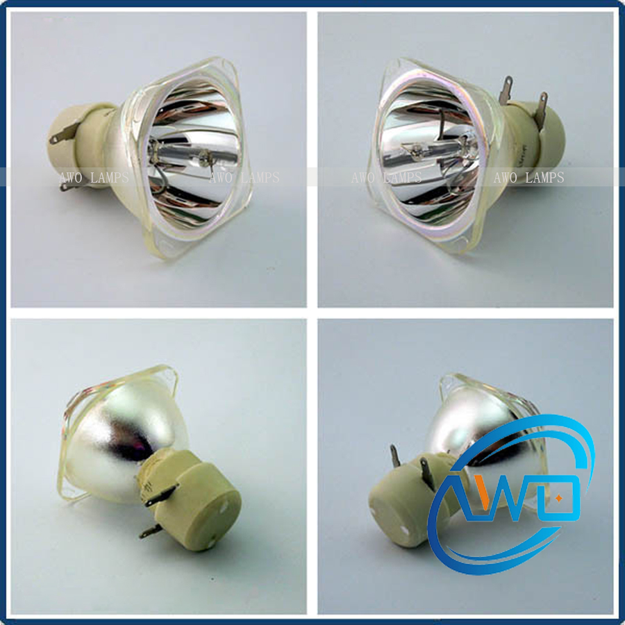 Free Shipping AWO High Quality Replacement Projector Bulb 5J.JAC05.001 for BENQ MX823ST free shipping 5j j5105 001 replacement projector lamp bulb for benq w710st high quality as original