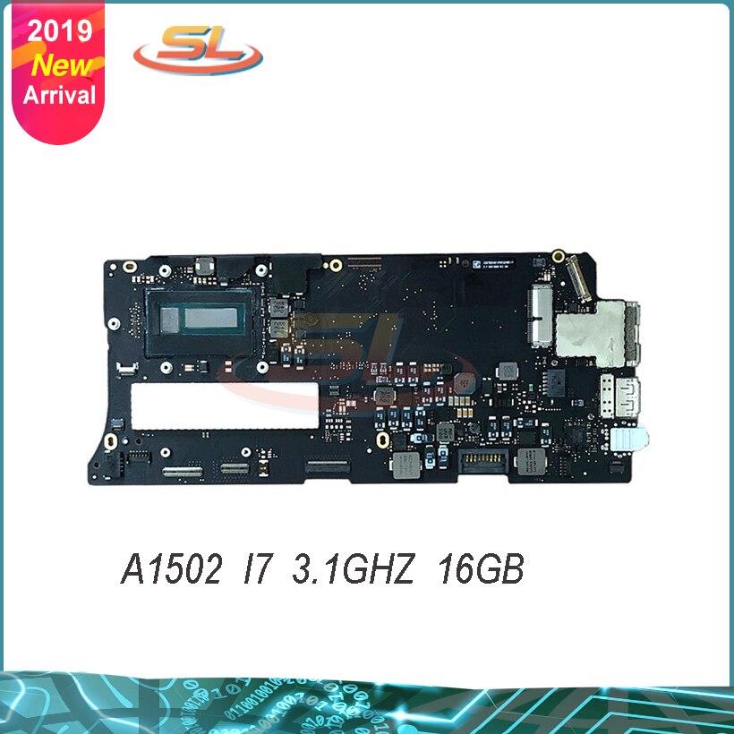 Подлинная материнская плата для a1502 3,1 ГГц Core i7 (I7-5557U) MF843 16GB логическая плата 2015 год 820-4924-A