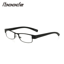 IBOODE kwadratowe metalowe okulary do czytania okulary kobiety mężczyźni okulary korekcyjne okulary kobieta mężczyzna nadwzroczność okulary Unisex optyka okulary tanie tanio Przezroczysty Lustro Z tworzywa sztucznego YJ0729 5 1 cm Stop 2 9 cm Eyewear Reading Glasses Black Gray Brown Reading Glasses Eyewear Eyeglasses Magnifying Glasses