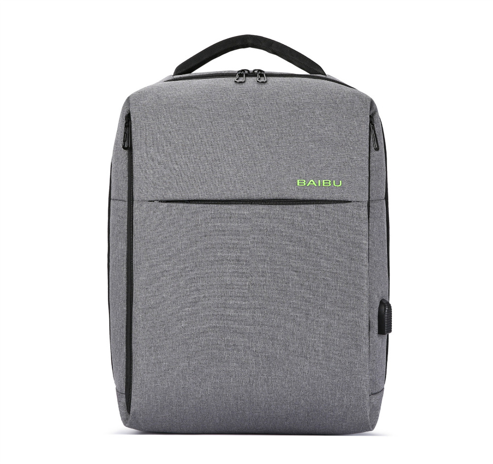 15 Laptop Backpack External USB Charge Computer Backpacks Waterproof Bags for Men Women school Bag for boys girls Male Travel
