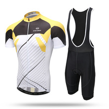 New 2017 cycling jersey bike shorts set Ropa Ciclismo quick dry team pro cycling wear mens bicycle Maillot