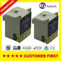 2 pk kompatibel color tintenpatronen für t041 e-041 für epson stylus c62 cx3200 mit chip