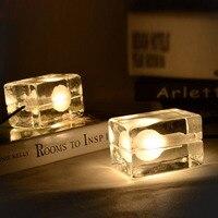 Mode Gecontracteerd Decor G9 AC 110/220 V 40-60 W Led Lamp Ijs Cube Hanglamp voor Woonkamer Eetkamer Bar Novel armatuur