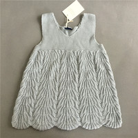 Summer Dress 2016 Girl Dress 100 Cotton Knitted 1 5 Age Solid European Style Girls Princess