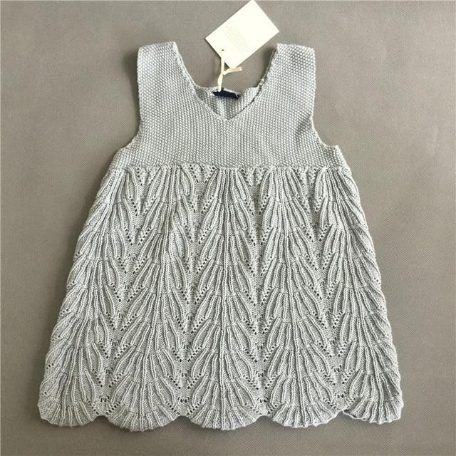 Meilleur Prix 2018 Fille Robe 100 Coton Crochet Bébé 1 5