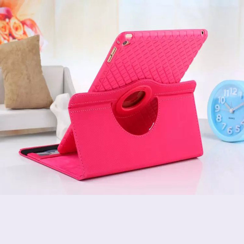 Case for Apple ipad 6 / air 2 PU leather multifunctional flip stand detachable soft TPU back case rotate Cover shell coque para multifunctional luxury flip stand case