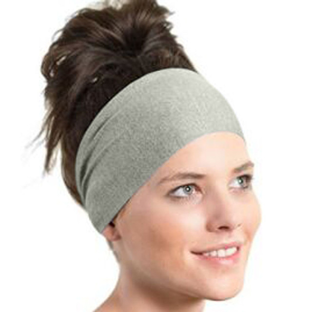 All Season Black Blue Gray Sports headbands Women Yoga Sweatband Gym Stretch  Headband Hair Band 2018 stirnschweissband 8b78c0a4c23
