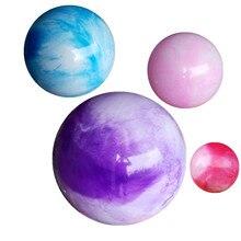 잉크 구름 요가 공 PVC Fitball 55cm / 65cm / 75cm 고품질 필 라 테 스 운동 균형 공 운동 공 폭발 방 탄