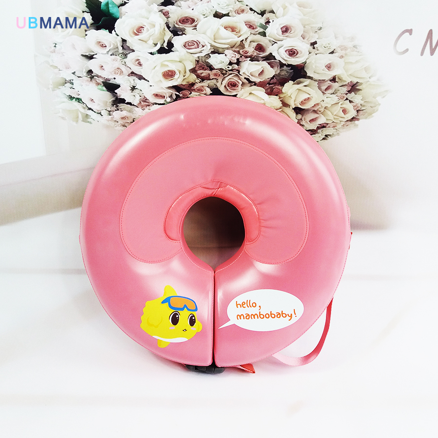 No need pump air More Safety Swimming Ring Free inflatable collar High Quality Baby Neck Swimming Ring Neck Float environmentally friendly pvc inflatable shell water floating row of a variety of swimming pearl shell swimming ring