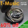 60% OFF de Alta Fidelidade T-Música do Fone De Ouvido DIY (Bass Tuned)/3.5mm fone de Ouvido fone de Ouvido Com o Pacote