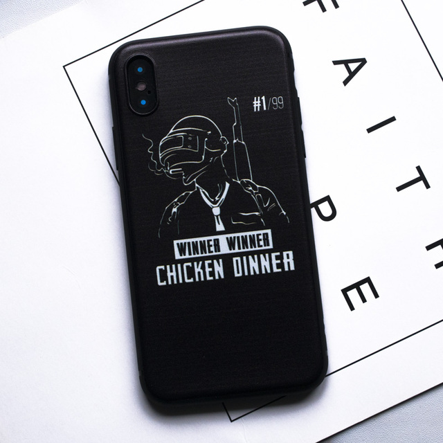 Game PUBG Phone Case For iPhone