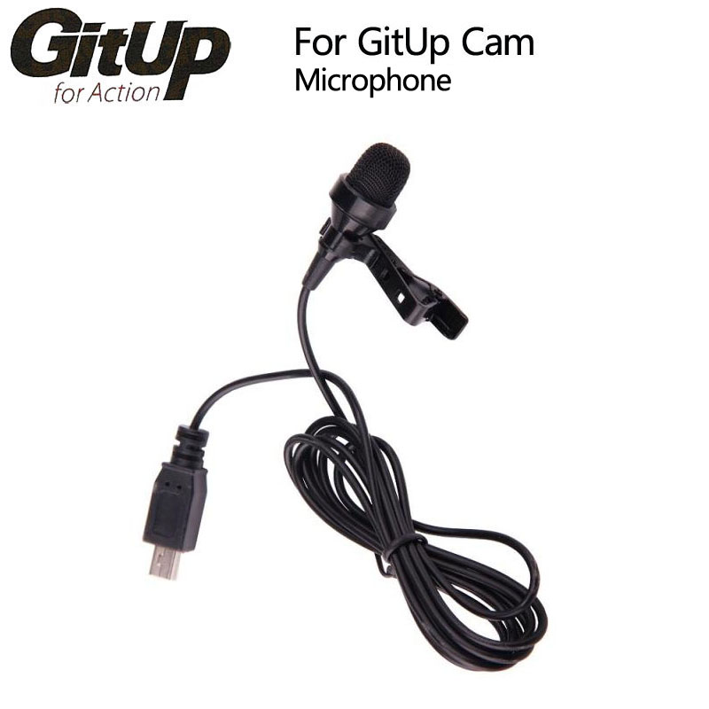 Original GitUP External Microphone for GitUp Git1 / Git2/2P WiFi Sports Action Camera