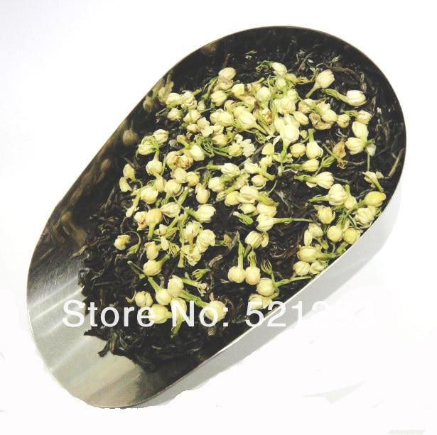 250G  Jasmine Flower Tea+Green Tea,jasmine flavor Biluochun tea +jasmine bud,Free shipping free shipping jasmine 30g tank flower tea green tea chinese tea