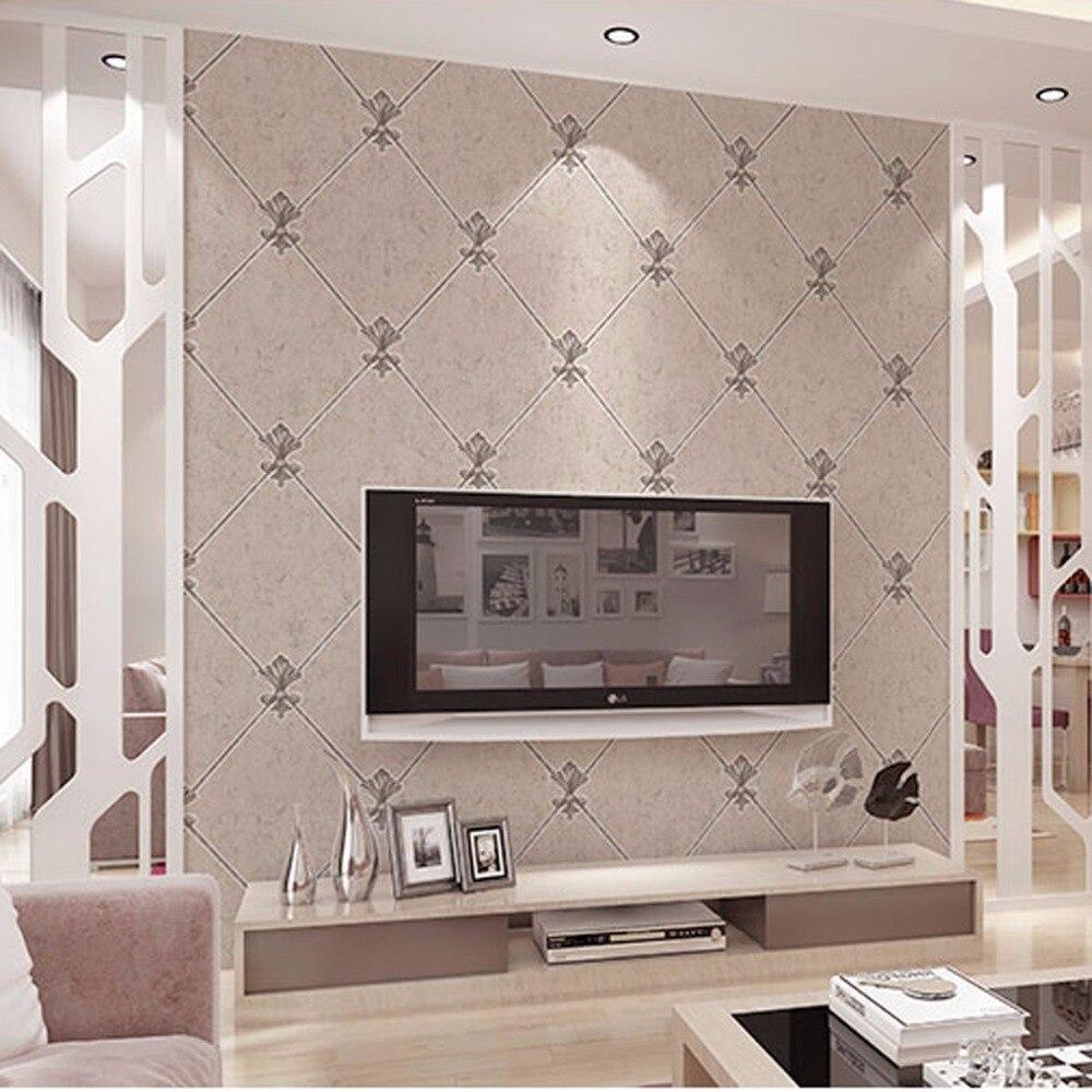 Beibehang européen rétro 3D stéréo cerf cuir papier peint simple antique brique mur pierre plancher chambre salon papier peint
