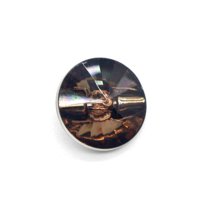 50 sztuk akrylowe guziki do szycia Scrapbooking okrągły kolorowy pojedynczy otwór 11mm Dia.Costura Botones udekoruj bottoni botoes AC003