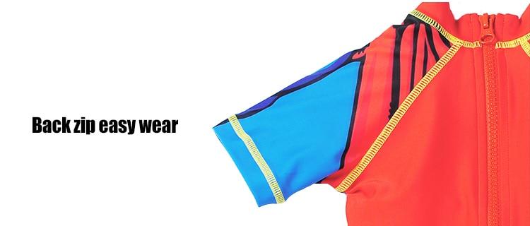 dcb7b2ef2c Kids Swimwear One Piece Boys Swimsuit Minions Batman Swimming ...