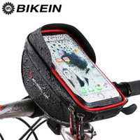 Waterproof Bike Front Bag Cycling Road Bicycle Top Tube Frame Bag MTB Handlebar Pouch Cell Phone