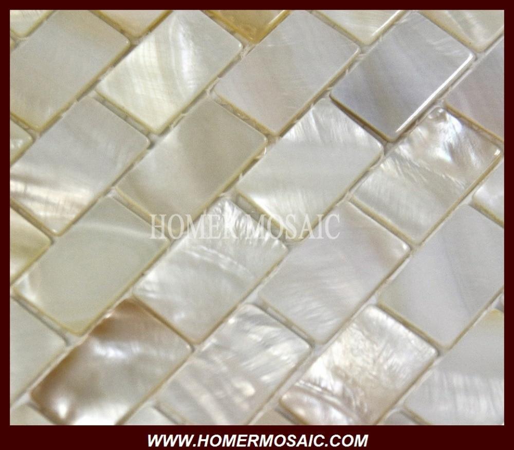 KILANG LANGSUNG! jubin mosaik shell, ibu jubin mosaik mutiara, jubin - Hiasan rumah - Foto 2