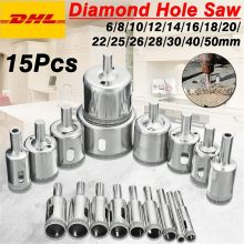 Diamond Hole saw Drill Bit Tool 6-50mm Ceramic Porcelain Glass Marble 6/8/10/12/14/16/18/20/22/25/26/28/30/40/50mm High Quality(China)