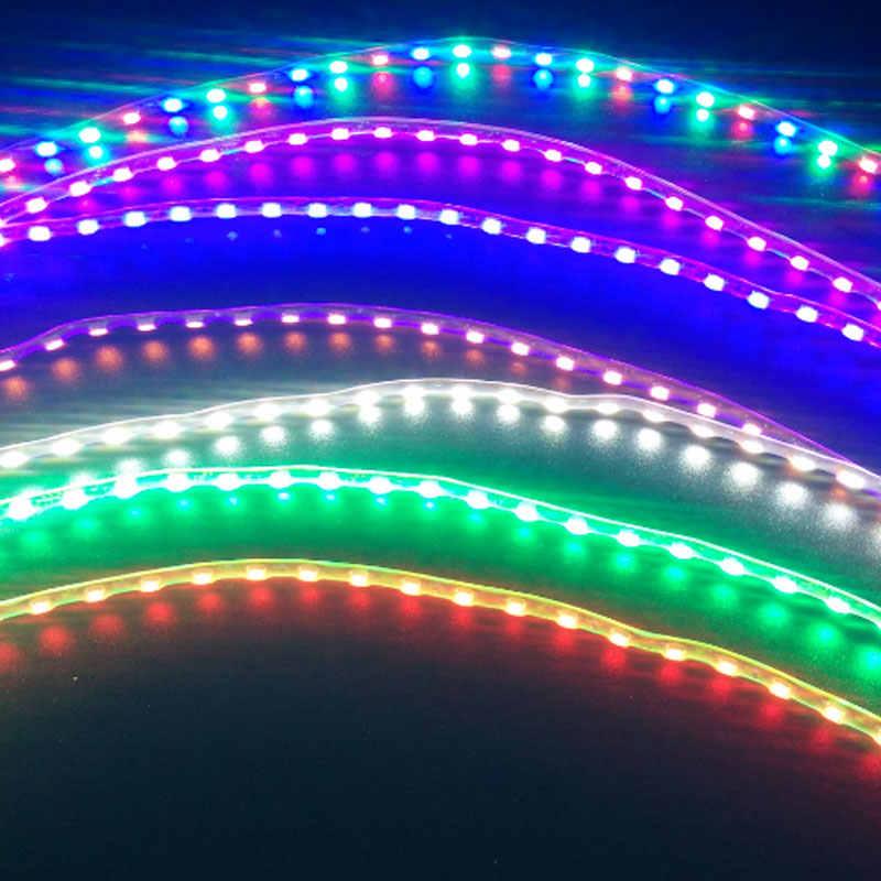 90cm 12V Flexible LED Strip Car Auto Decorative Light Car Waterproof Eyebrow Lamp Motorcycle Light Chassis lights Stoplight