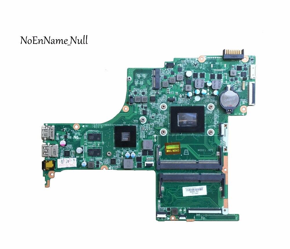 809408-501 livraison gratuite 809408-001 CARTE MÈRE POUR HP 15-AB 15Z-AB Mère D'ordinateur Portable R7M360 2 GB a10-8700P DA0X21MB6D0