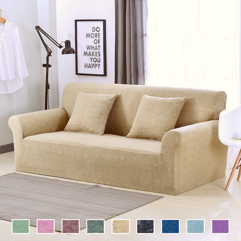 Slipcover Furniture Living Room: Modern Universal Stretch Sofa Covers For Living Room