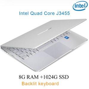 "P9-20 silver 8G RAM 1024G SSD Intel Celeron J3455 23"" Gaming laptop notebook desktop computer with Backlit keyboard"