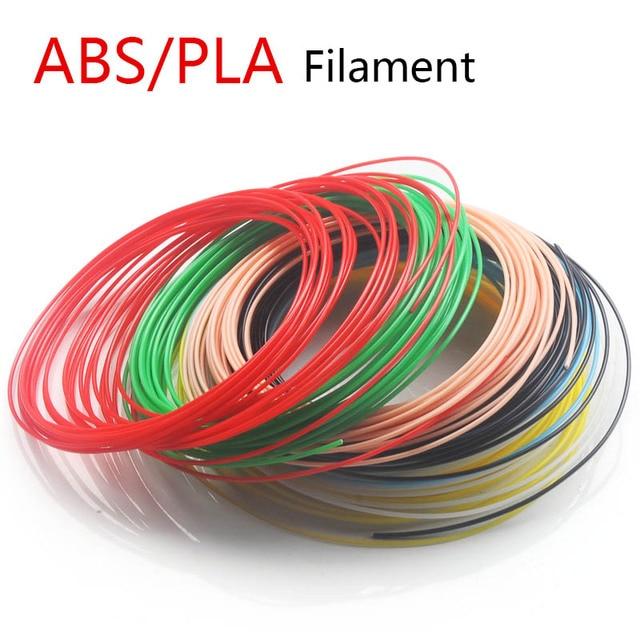 Pluma 3D ABS/PLA filamento 1.75mm20 color variedad de BRICOLAJE elegir el perfecto pluma de impresión 3D de plástico, los niños les gusta