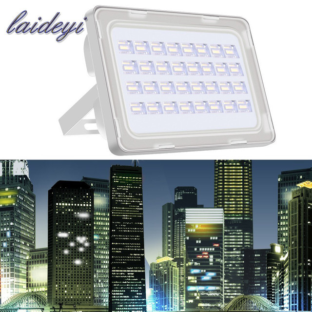 2pcs NEW 100W LED Flood Lights AC200-240V 9000lms Super Bright Floodlight Outdoor IP65 Waterproof LED Flood Lamp 100 watt