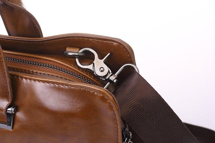 Classic Woman Men s Briefcases Leather Business Office Computer Laptop Bags austere Vintage Shoulder Crossbody Bags Classic Woman Men's Briefcases Leather Business Office Computer Laptop Bags austere Vintage Shoulder Crossbody Bags For ipad Men
