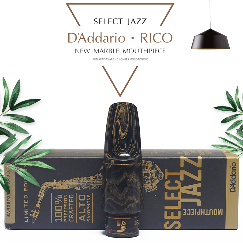 U.S.A Original Sax's mouthpiece Eb alto Saxophone Hard rubber mouthpiece select jazz premium alto saxophone mouthpiece black