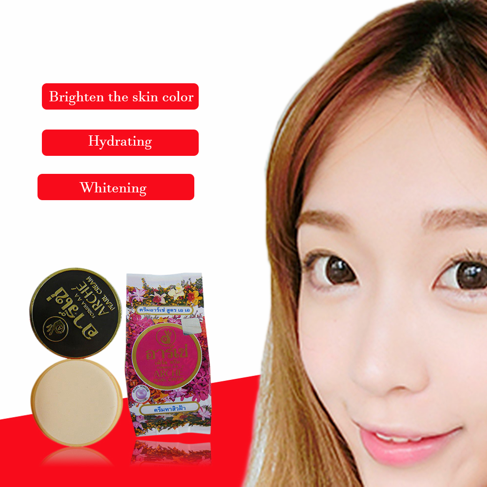 Authentic Thai Arche Arche Pearl Cream Is Zhuang Pearl Whitening Beauty Cream Skin Lightening Acne  1pcs
