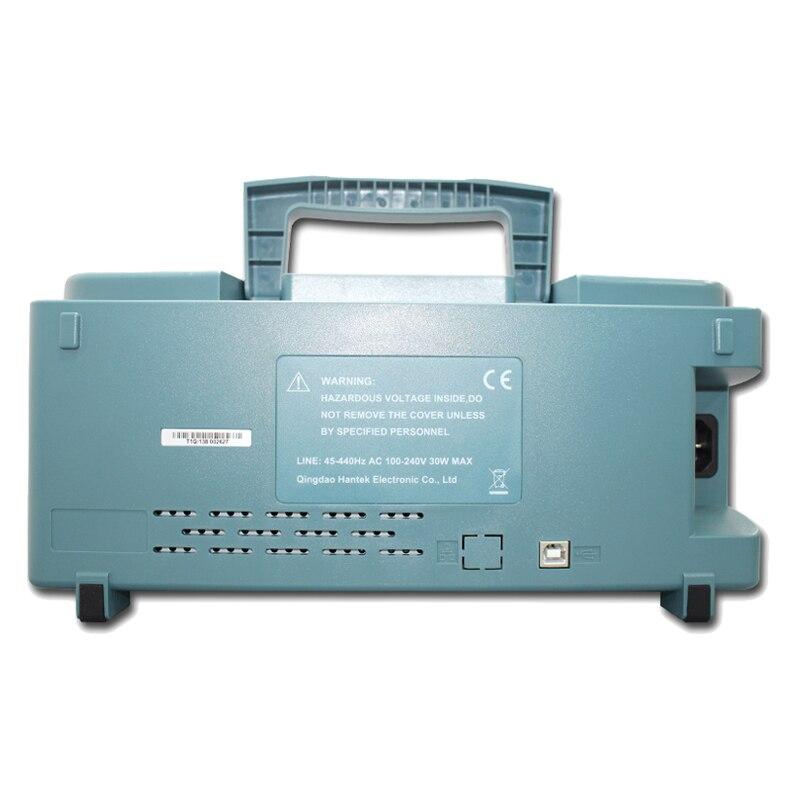 Image 3 - Hantek DSO5202P Digital storage oscilloscope USB 200MHz 2Channels 1GSa/s 7'' TFT LCD Record Length 40K USB AC110 220V-in Oscilloscopes from Tools