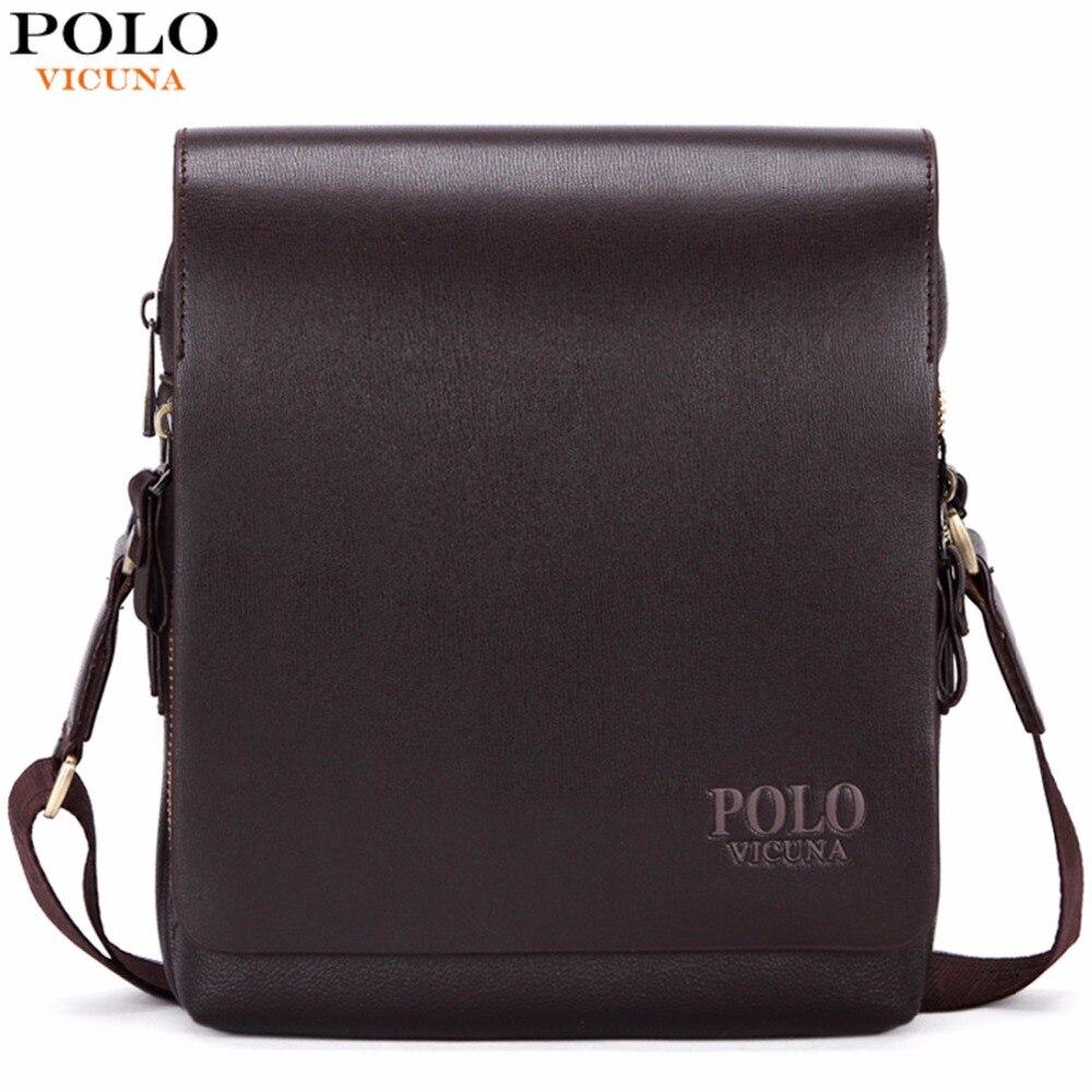 VIKUNJA POLO Neue Ankunft Mode-Business Leder Männer Messenger Taschen Werbe Kleine Umhängetasche Schulter Tasche Casual Mann Tasche