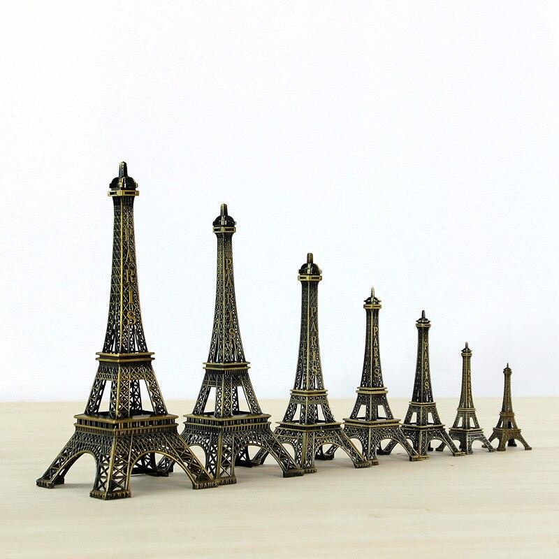 FREE SHIPMENT BRONZE COLOR PARIS EIFFEL TOWER STATUES/MODEL ART CRAFTS WEDDING&BIRTHDAY&HOME&OFFICE&GIFT&PRESENT