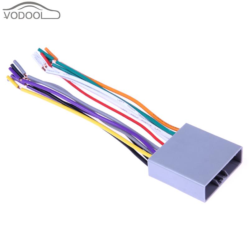 font b Auto b font Car font b Stereo b font CD Player font b compare prices on auto stereo wiring harness online shopping buy auto stereo wiring harness at gsmx.co