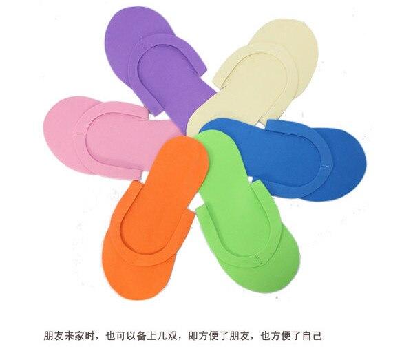 3bd06bc2e88 free shipping 12pcs lot Disposable Slipper   EVA Foam Salon Spa Slipper   Disposable  Pedicure