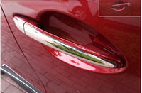 Stainless Steel door handle cover Chrome trims FOR Mazda 3 6 2014 2015