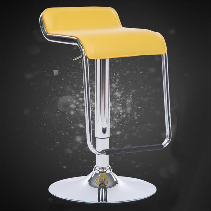 Купить с кэшбэком La Taburete Sedie Bancos Moderno Kruk Para Barra Comptoir Stuhl Leather Silla Tabouret De Moderne Stool Modern Bar Chair