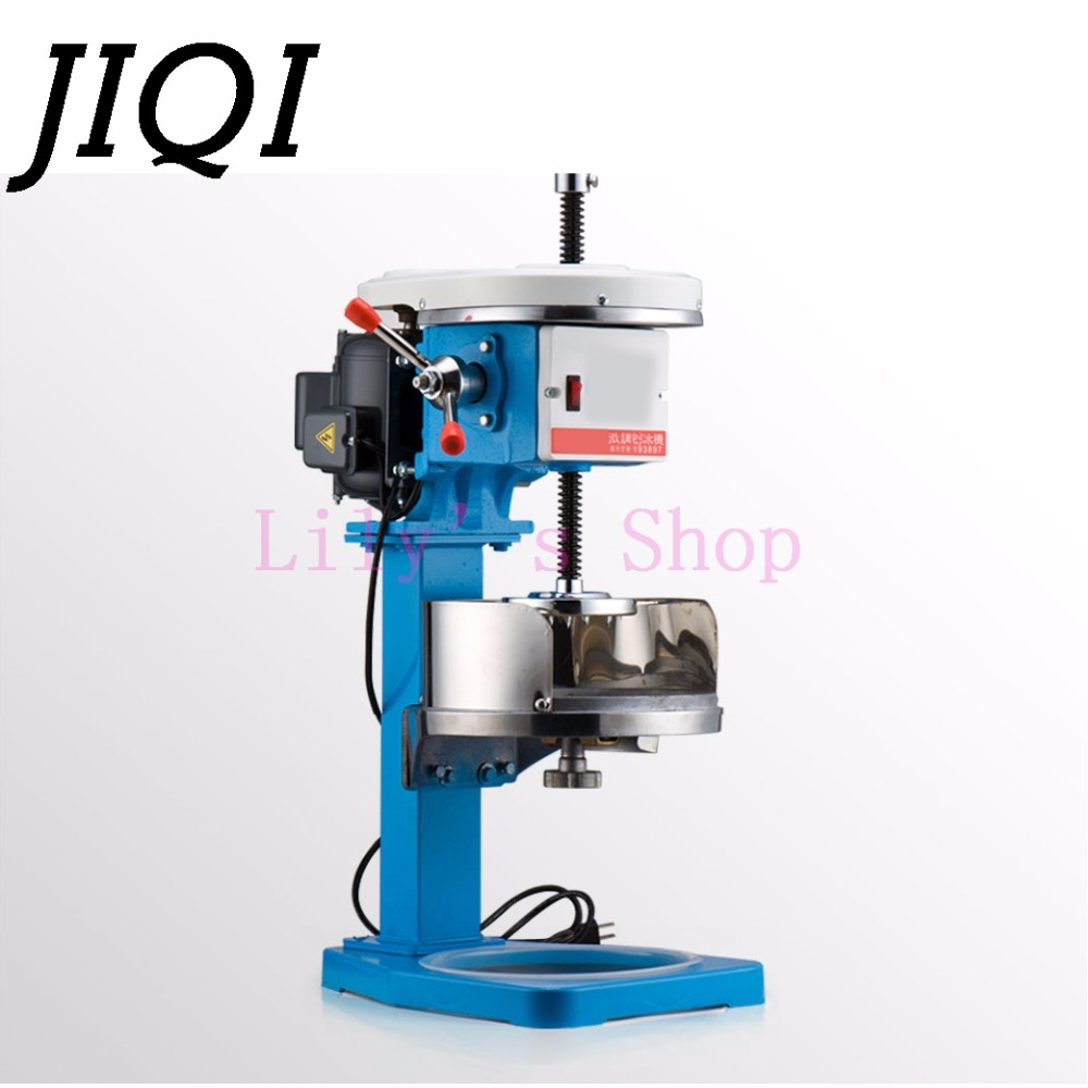 Electric ice crusher shaver ice sand slush maker commercial snow cone Smoothie machine auto ice block making machine EU US plug jiqi household snow cone ice crusher fruit juicer mixer ice block making machines kitchen tools maker