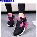 fashion breathable platform trainers shoes women winter high top plush flats shoes ladies ankle boots increased flat shoes 29p9