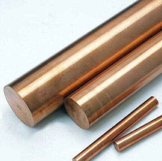 Purity 99.9 Round Copper Bar 14mm OD x 500mm Length Red Copper Round Bar / Rod DIY accessories 5pcs lot pure copper broken groove memory mos radiator fin raspberry pi chip notebook radiator 14 14 4 0mm copper heatsink