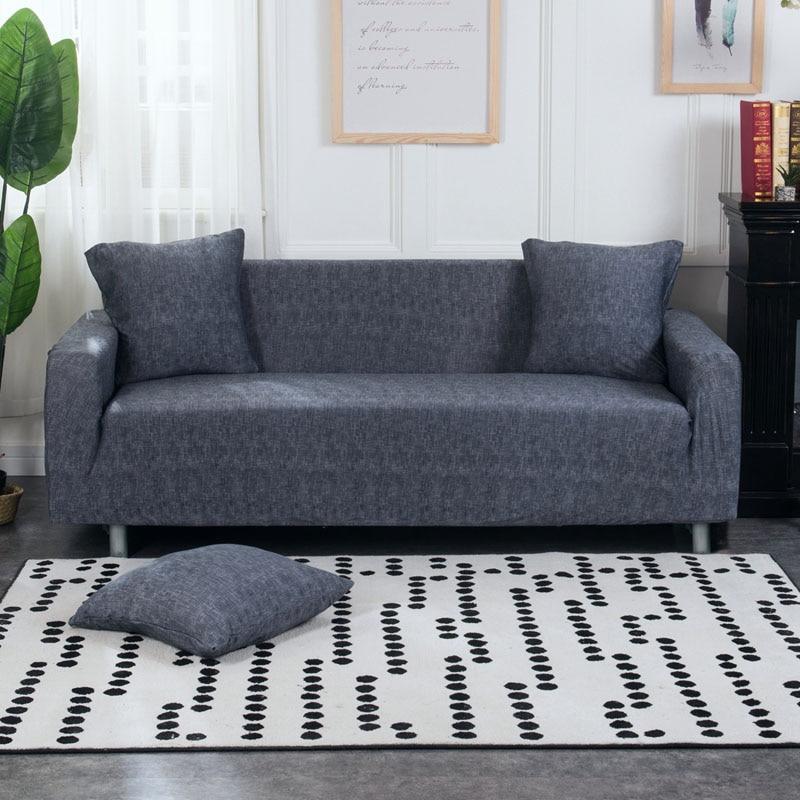 1 PC Elastis Sofa Ketat Bungkus Semua termasuk Slip-tahan Sofa - Tekstil rumah - Foto 3