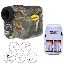 Free shipping! Camo 600M Monocular Laser Rangefinder Sport Hunting Golf Scope + Charger Battery