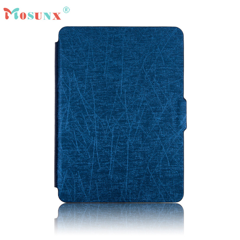 Hot-sale MOSUNX Magnetic Auto Sleep PU Leather Cover Case For Amazon Kindle Paperwhite 2016 (7th Generation) 6 inch Tablet Gifts protective pu leather flip case cover w auto sleep for amazon kindle paperwhite coffee