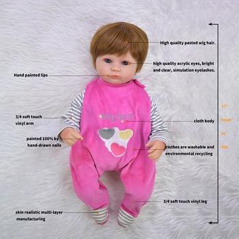 Кукла-младенец KEIUMI 17KUM6005-WIG 5